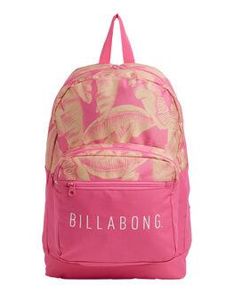 PINK WOMENS ACCESSORIES BILLABONG BAGS + BACKPACKS - BB-6692008-PNK