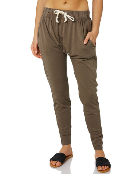 OLIVE WOMENS CLOTHING SILENT THEORY PANTS - 6090036GRN