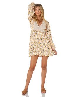 POSY FLORAL WOMENS CLOTHING RUE STIIC DRESSES - RWS-19-45-1MIXRV