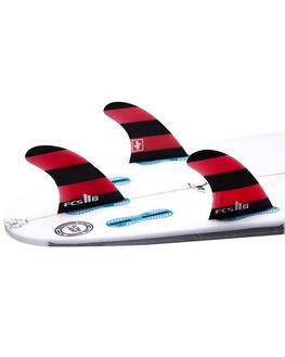 RED BOARDSPORTS SURF FCS FINS - FJFM-PG01-MD-TS-R