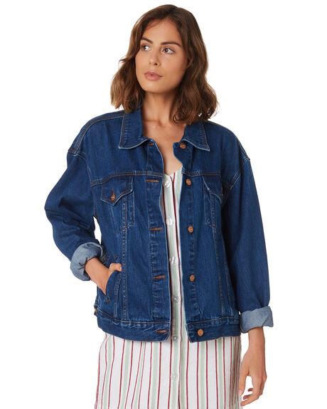 BAHAMA BLUE WOMENS CLOTHING INSIGHT JACKETS - 5000003437BBLU