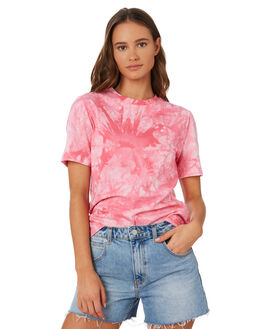 PINK TIE DYE WOMENS CLOTHING THE FIFTH LABEL TEES - 40191126PKTD