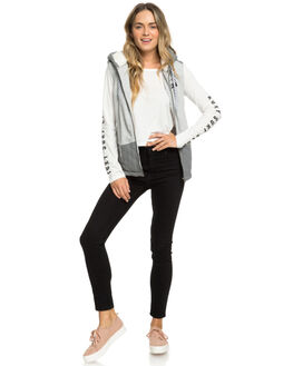 HERITAGE HEATHER WOMENS CLOTHING ROXY JACKETS - ERJFT03909-SGRH