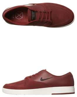 TEAM RED BLACK MENS FOOTWEAR NIKE SKATE SHOES - 918304-601