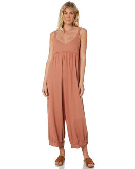 ALMOND ROSE WOMENS CLOTHING SAINT HELENA PLAYSUITS + OVERALLS - SHS19115ALMR