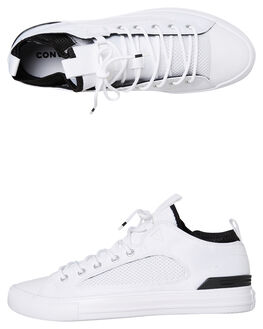 WHITE MENS FOOTWEAR CONVERSE SNEAKERS - 160480CWHT