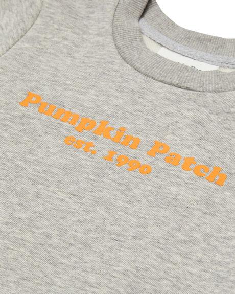 GREY MARLE KIDS BABY PUMPKIN PATCH CLOTHING - BT-002GRYM