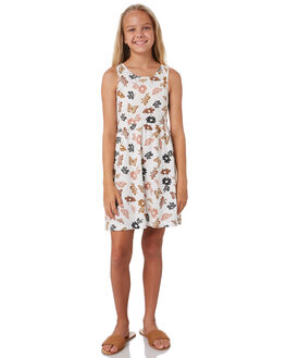 NATURAL KIDS GIRLS SWELL DRESSES + PLAYSUITS - S6202446NATRL