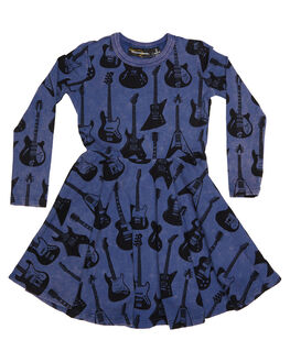 PRINT KIDS TODDLER GIRLS ROCK YOUR BABY DRESSES - TGD1861-GHPRNT