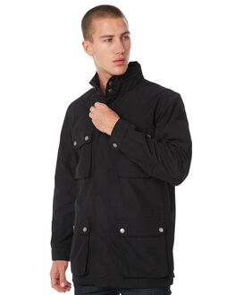 BLACK MENS CLOTHING ACADEMY BRAND JACKETS - 18W212BLK