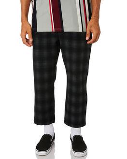 BLACK MENS CLOTHING STUSSY PANTS - ST096604BLK