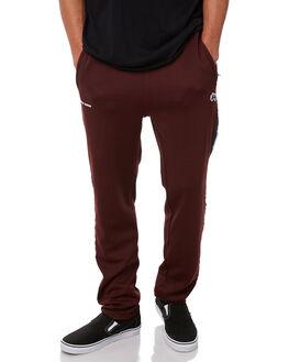 DARK AUBERGINE MENS CLOTHING STUSSY PANTS - ST086600DAUB