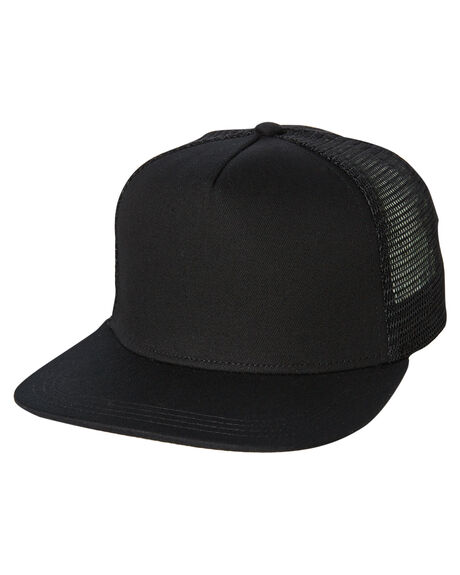 BLACK MENS ACCESSORIES AS COLOUR HEADWEAR - 1108BLK