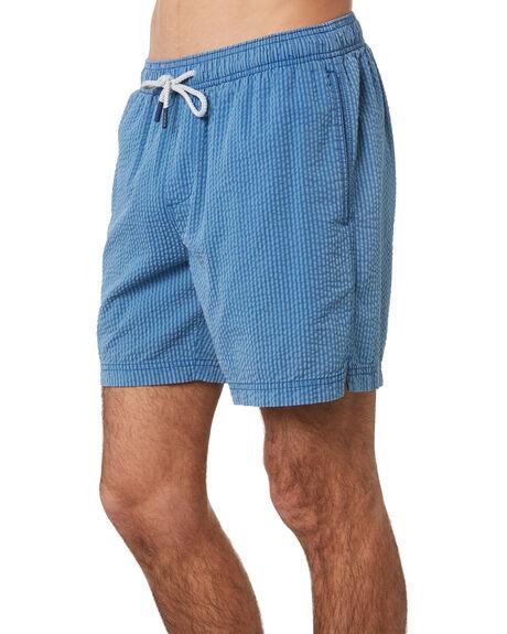 NAVY MENS CLOTHING ACADEMY BRAND BOARDSHORTS - 20S727NVY