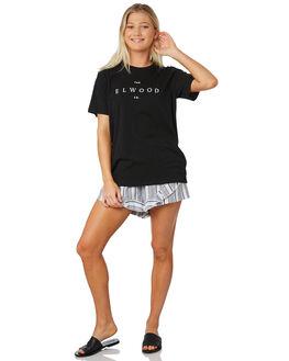 BLACK WOMENS CLOTHING ELWOOD TEES - W91114BLK