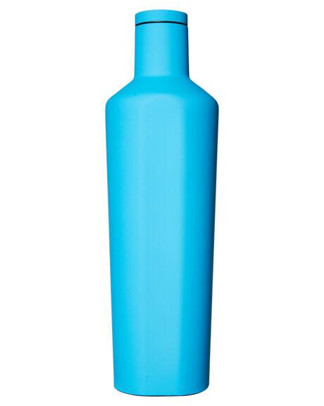 NEON BLUE MENS ACCESSORIES CORKCICLE DRINKWARE - CI2CNBLBBLU