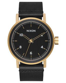 ALL BLACK GOLD MENS ACCESSORIES NIXON WATCHES - A11941031