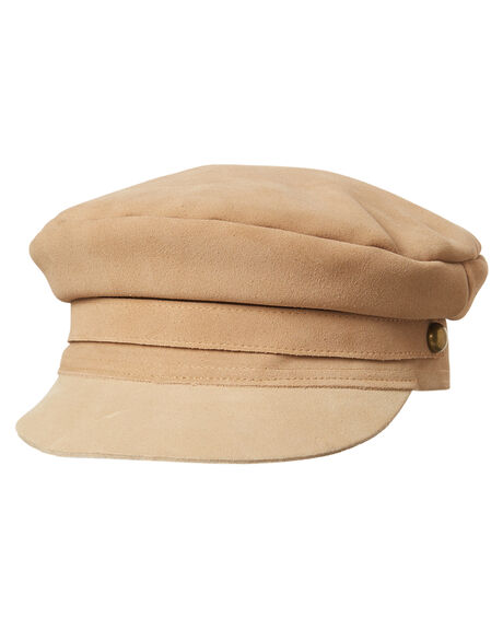 TAUPE WOMENS ACCESSORIES LACK OF COLOR HEADWEAR - TAUPLOLACAP1TPE