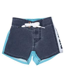 BLUE KIDS TODDLER BOYS RIP CURL BOARDSHORTS - OBOYA30070
