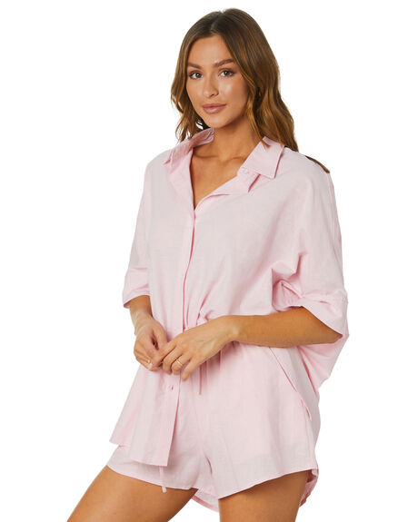 BABY PINK WOMENS CLOTHING SNDYS FASHION TOPS - SET202BPNK