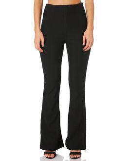 BLACK WOMENS CLOTHING TWIIN PANTS - IE19S1030BLK