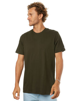 DARK GREEN MENS CLOTHING VOLCOM TEES - A5011530DGRN
