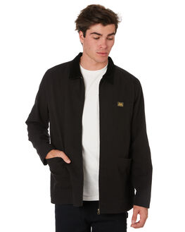 BLACK CANVAS MENS CLOTHING LEE JACKETS - 601907C34