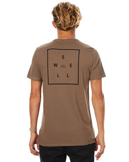 OLIVE MENS CLOTHING SWELL TEES - S5173006OLV