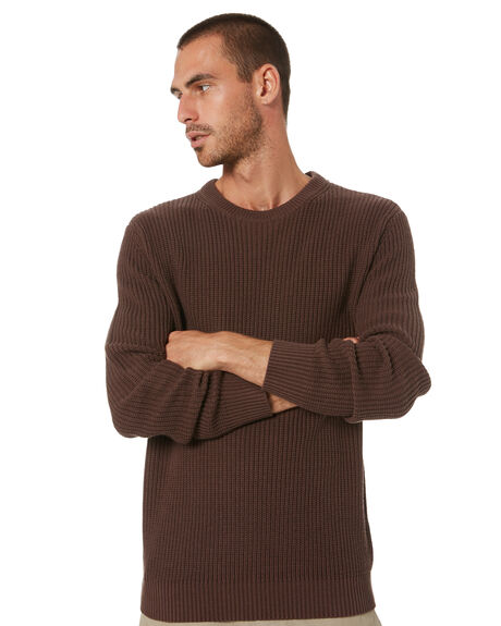 CHESTNUT MENS CLOTHING SWELL KNITS + CARDIGANS - S5184147CHST