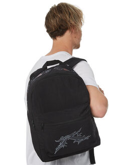 BLACK MENS ACCESSORIES RUSTY BAGS + BACKPACKS - BPM0315BLK