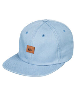 STONE WASH MENS ACCESSORIES QUIKSILVER HEADWEAR - AQYHA04316-BKJ0