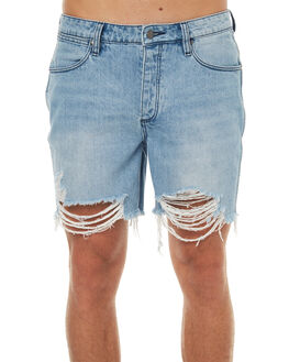 STAPLE DESTRUCT MENS CLOTHING WRANGLER SHORTS - W-901160-EL3STDES