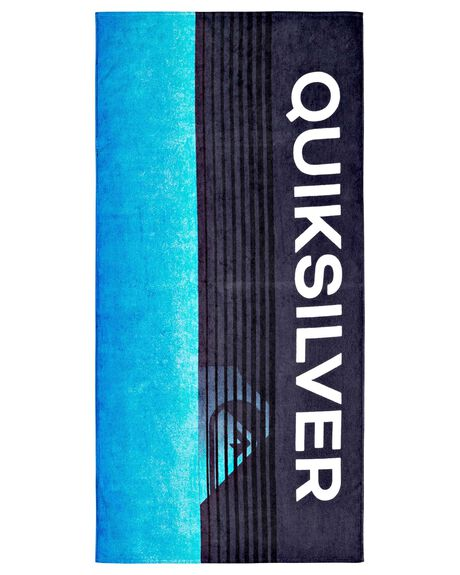 PACIFIC BLUE MENS ACCESSORIES QUIKSILVER TOWELS - AQYAA03178-BGZ0