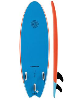 ORANGE/BLUE BOARDSPORTS SURF GNARALOO GSI SOFTBOARDS - GN-FLOPO-ORBL
