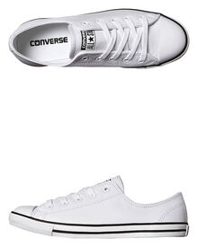 Chuck Taylor Womens All Star Dainty Leather Shoe