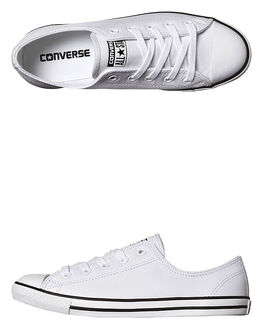 WHITE WOMENS FOOTWEAR CONVERSE SNEAKERS - 537108WHI