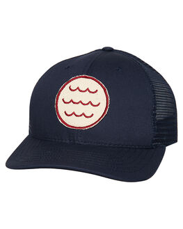 NAVY MENS ACCESSORIES MOLLUSK HEADWEAR - MS1580NVY
