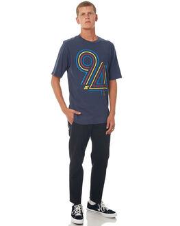 DARK INDIGO MENS CLOTHING DC SHOES TEES - UDYZT03474BYJ0