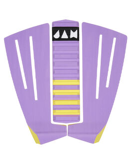 PURPLE BOARDSPORTS SURF JAM TRACTION TAILPADS - TPFB3PPURP