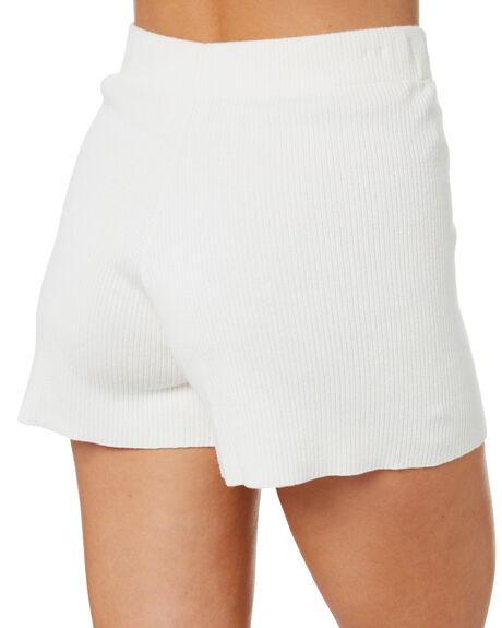 WHITE WOMENS CLOTHING ZULU AND ZEPHYR SHORTS - ZZ3378WHT
