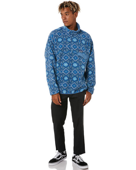 HONEYCOMB STONE BLUE MENS CLOTHING PATAGONIA JUMPERS - 25580HYSB