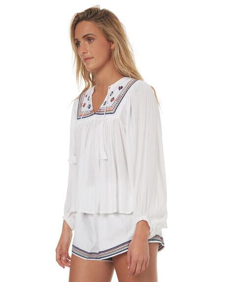 WHITE WOMENS CLOTHING TIGERLILY FASHION TOPS - T372058WHT