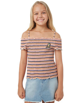 APRICOT KIDS GIRLS BILLABONG FASHION TOPS - 5581131APR