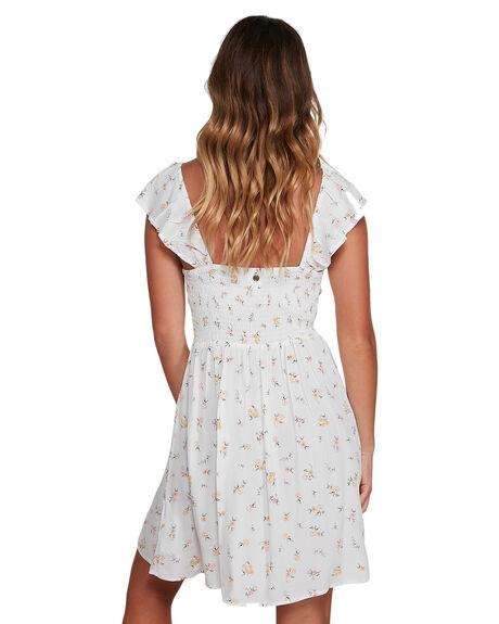 CREAM WOMENS CLOTHING BILLABONG DRESSES - BB-6504467-CRM