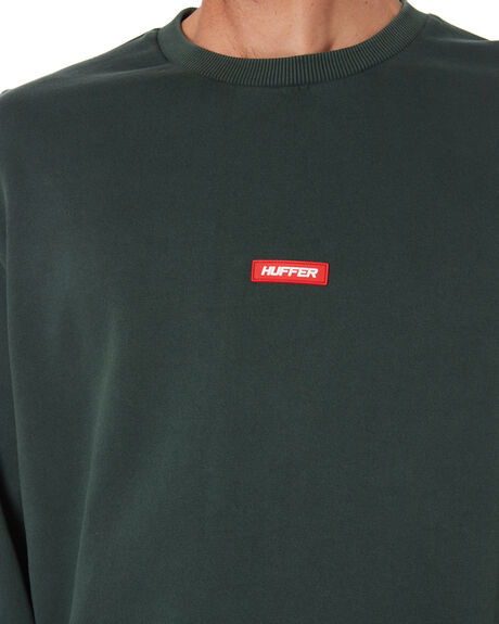 RACING GREEN MENS CLOTHING HUFFER JUMPERS - MCR01S2801RCNGR