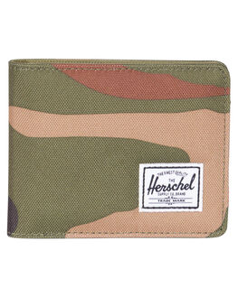 WOODLAND CAMO MENS ACCESSORIES HERSCHEL SUPPLY CO WALLETS - 10363-00032-OSWOOD