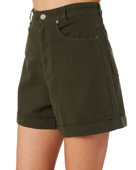 TEAL WOMENS CLOTHING THE HIDDEN WAY SHORTS - H8201196TEAL