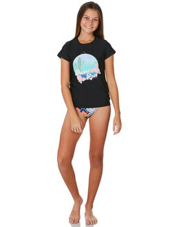 BLACK KIDS GIRLS SEAFOLLY SWIMWEAR - 27042-106BLK