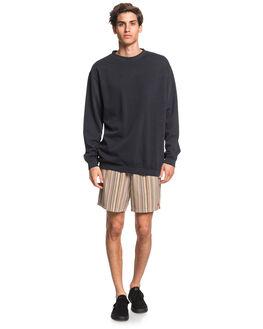 BLACK MENS CLOTHING QUIKSILVER JUMPERS - EQYFT04093-KVJ0