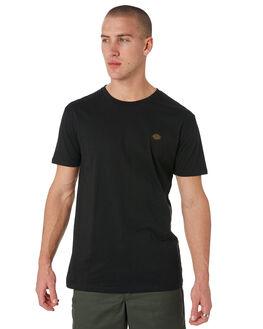 BLACK MENS CLOTHING DICKIES TEES - KU3180103BK